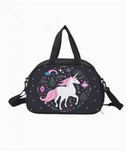 Unicorn Duffle Bag Black