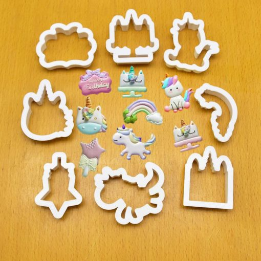Unicorn Cookie Cutter Sugar