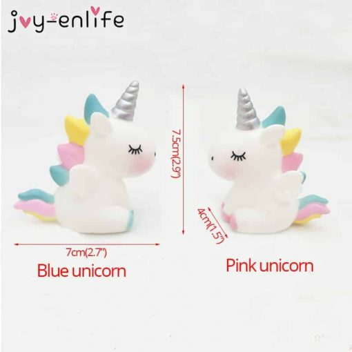 Unicorn Cake Topper Party
