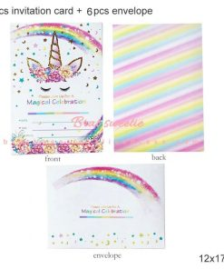 Unicorn Birthday Invitation Design
