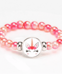 Unicorn Party Decoration Pink Bracelet