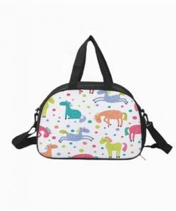 Unicorn Duffle Bag White