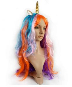 Unicorn Wig Our Sun Is Dancing