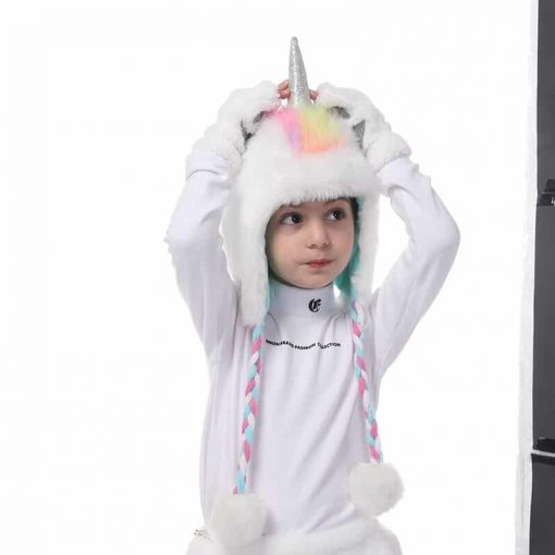 Unicorn Gloves Hat And Gloves