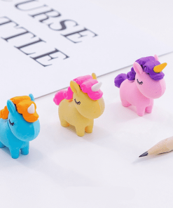 Unicorn Erasers Smile