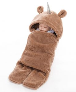 Unicorn Sleeping Bag Brown