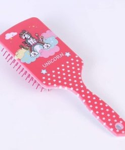 Unicorn Hair Brush Pink