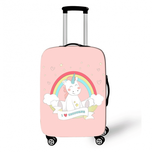 Unicorn Suitcase Pink Lin