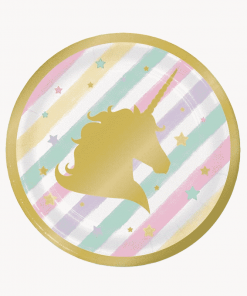 Unicorn Plates Sparkle