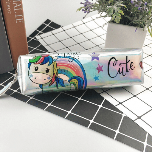 Unicorn Pencil Case Skinny Dip