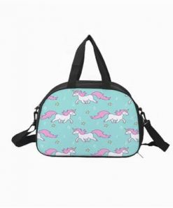 Unicorn Duffle Bag Blue