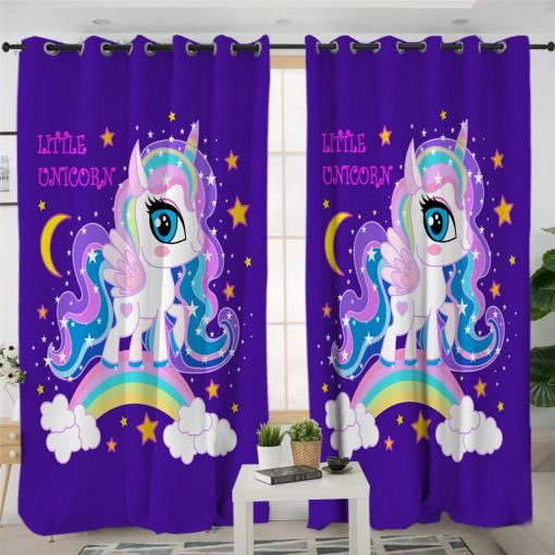Unicorn Curtains Galaxy