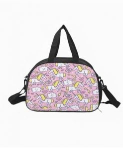 Unicorn Duffle Bag Beautiful Walm Art