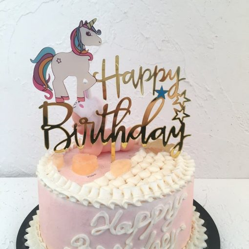 Unicorn Cake Topper For Cake