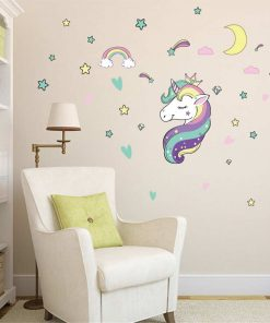 Unicorn Stickers For Walls