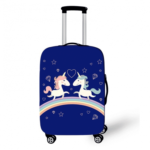 Unicorn Suitcase 20 Inch Kids Hardside