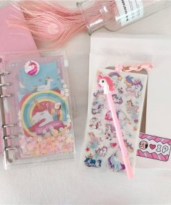 Unicorn Notebook Smile Unicorn Notebook