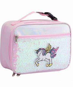 Unicorn Lunch Bag Sequin