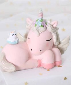Unicorn Figurines Pink