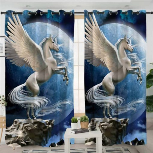 Unicorn Curtains Panels