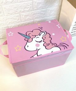 Unicorn Storage Bin Box