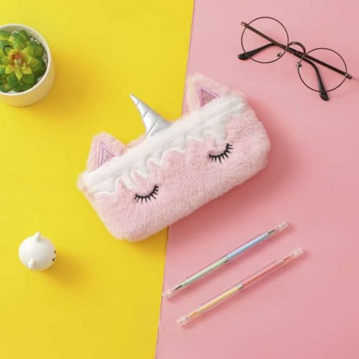 Unicorn Pencil Case Plush