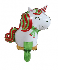 Unicorn Balloon Christmas