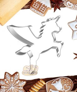 Unicorn Cookie Cutter Shaped