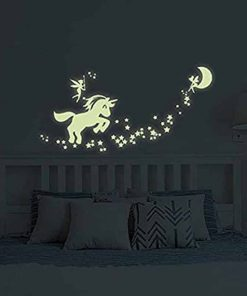 Unicorn Stickers Glow In The Dark