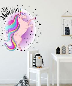 Unicorn Stickers Removable Wall