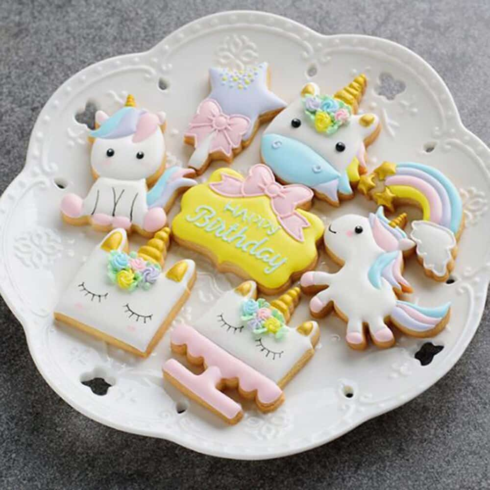 Unicorn Cookie Cutters Unicorn Party Supplies and Decorations Party Favors