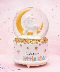 Unicorn Snow Globe The Amazon Rainforest