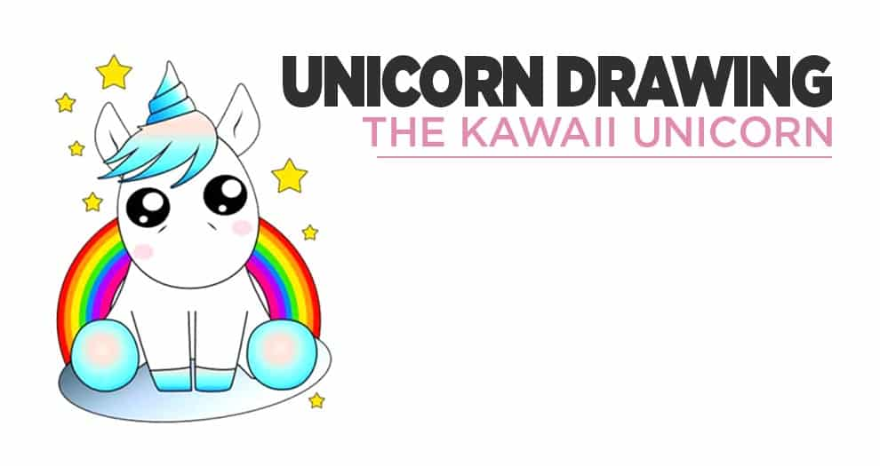 How Do You Draw A Kawaii Unicorn ?