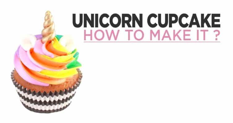 Make Your Own Unicorn Cupcakes