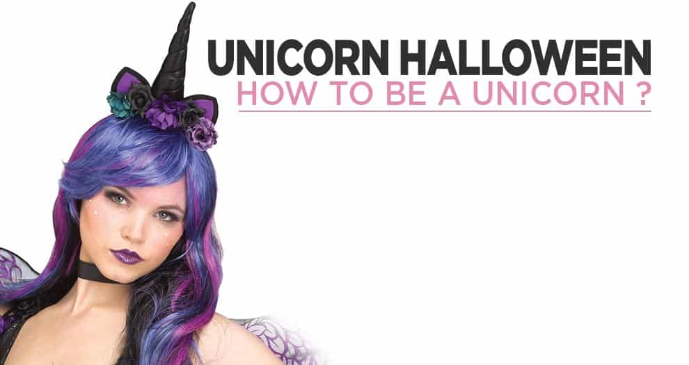 Being A Unicorn For Halloween
