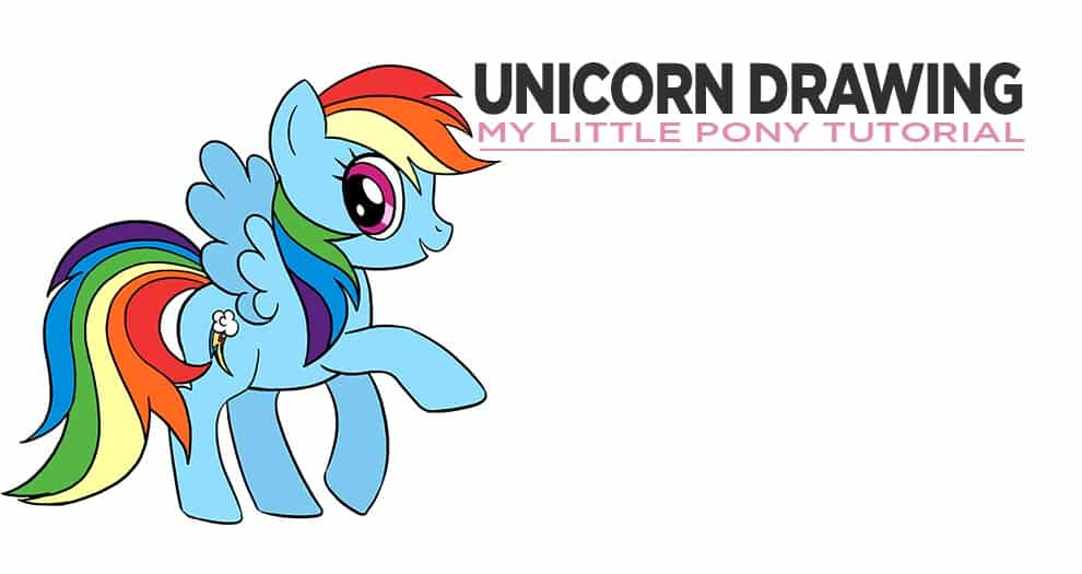 How To Draw My Little Pony Step By Step