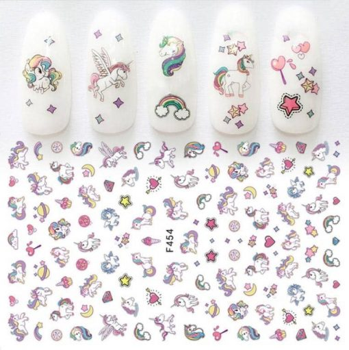 Unicorn Stickers Nail