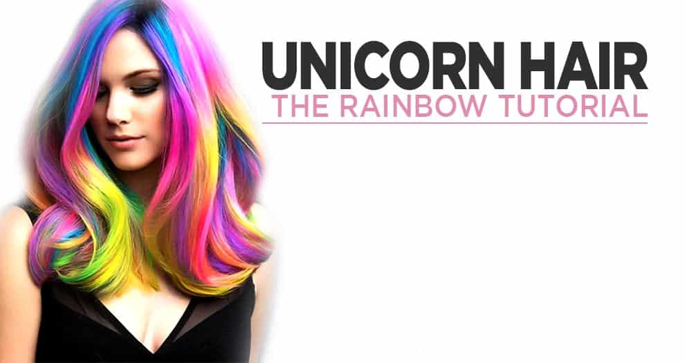 How To Turn Your Hair Into A Rainbow Unicorn ?