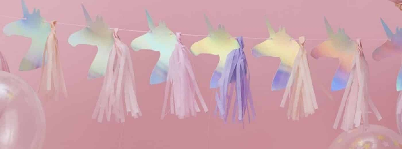 Unicorn Party Decoration Garlands