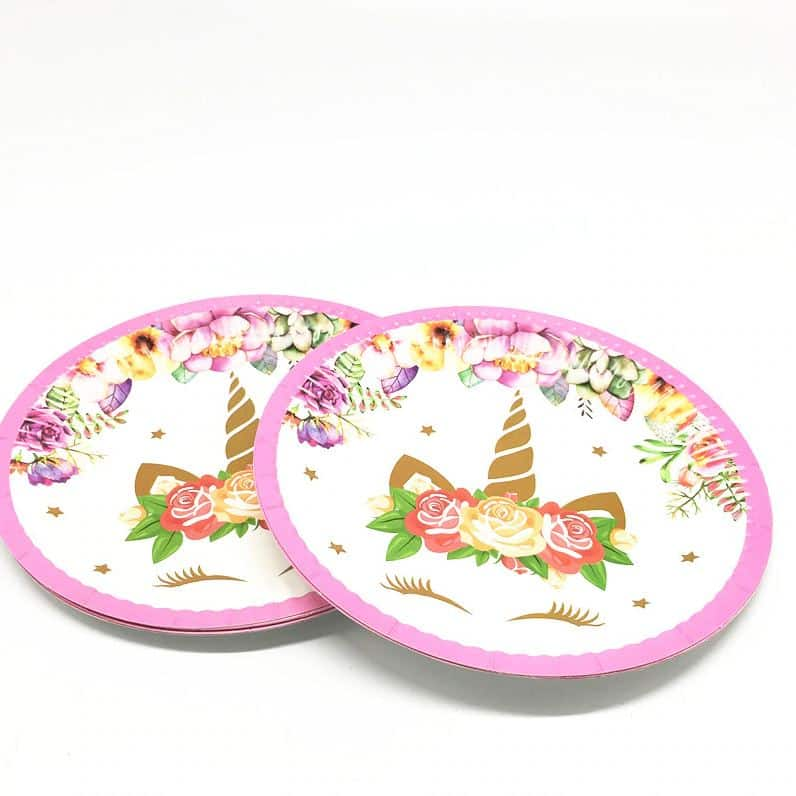 Unicorn Plates For Party