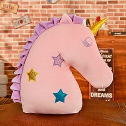 Unicorn Pillow Pink