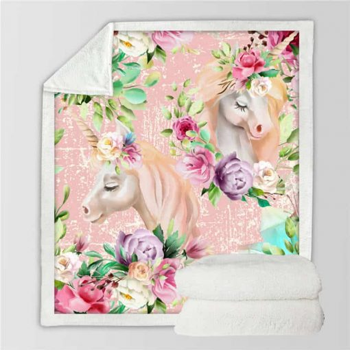 Unicorn Blanket Kids