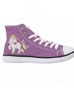 Unicorn Shoes Purple