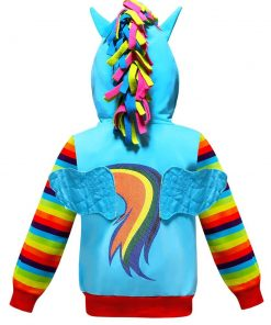 Unicorn Jacket Hooded