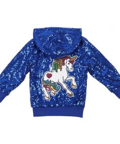 Unicorn Jacket Blue