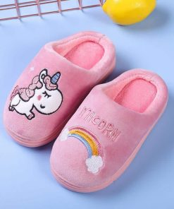 Unicorn Slippers Childrens