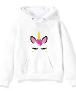 Unicorn Hoodie For Toddlers