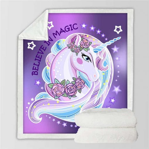 Unicorn Blanket Plush