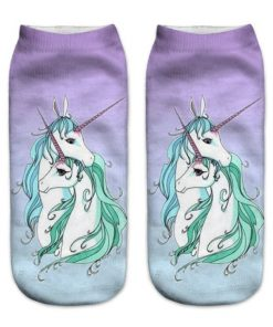 Unicorn Socks Adult