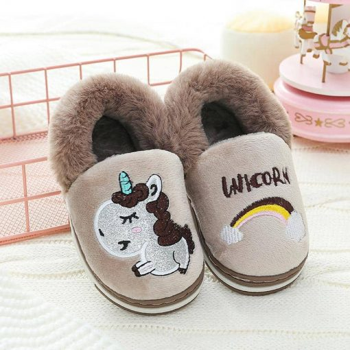 Unicorn Slippers Mens